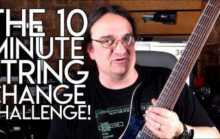 10 Minute String Change Challenge