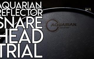 Aquarian Reflector Snare Head Demo