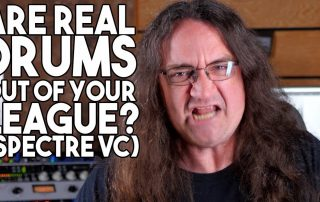 Are REAL DRUMS out of your league | Spectre Sound Studios VC