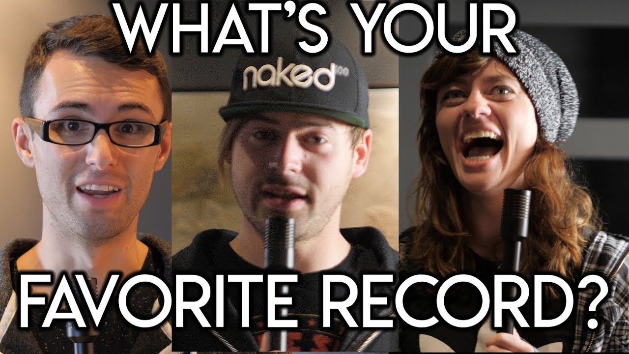 Asking Music Youtubers What's your Favorite Record