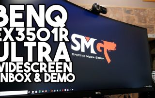 BenQ EX3501R Ultra Wide CURVED Monitor Unbox & Demo