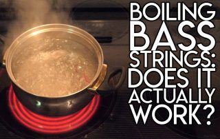 Boiling Bass Strings- Does it actually WORK