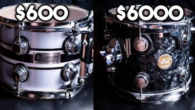 CHEAP vs EXPENSIVE drums