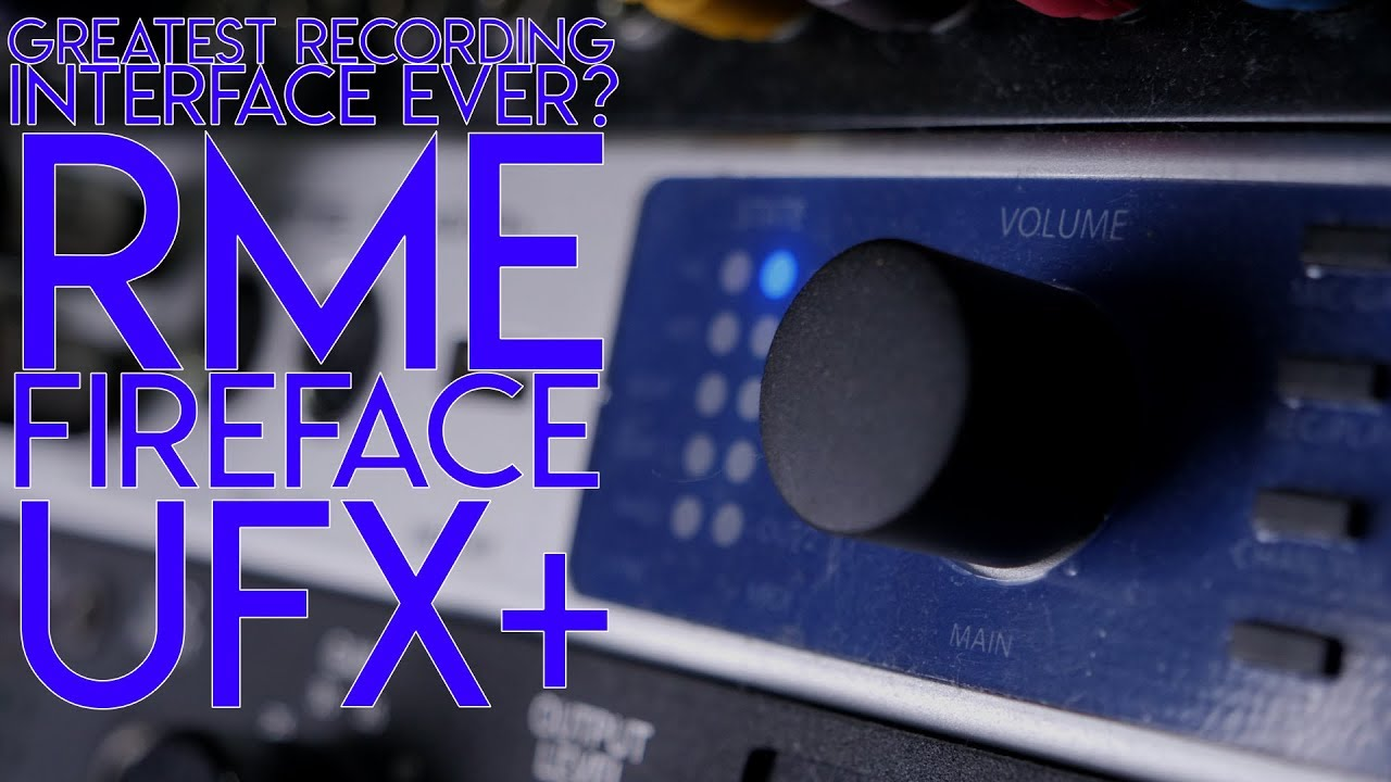 Greatest Recording interface ever_Review