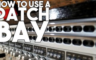 How to USE A PATCHBAY