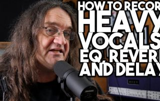 How to record HEAVY VOCALS EQ, REVERB, and DELAY