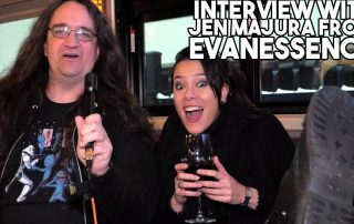 Interview with JEN MAJURA from Evanesscence