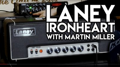 Laney Ironheart with Martin Miller