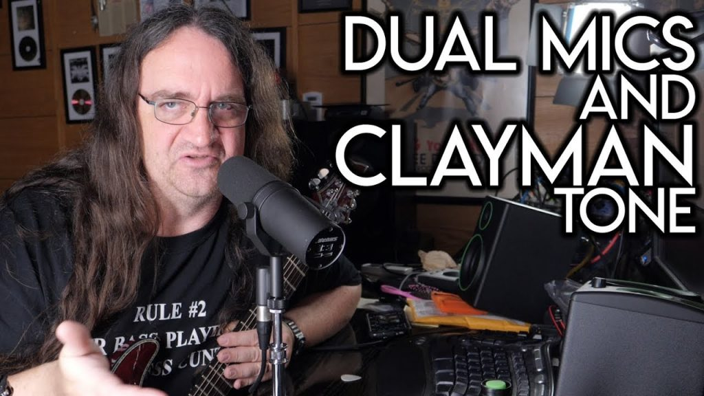 METAL GUITAR- Dual Mics and Clayman Tone