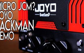 Micro JCM 800 Joyo Jackman BantAmp