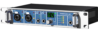 RME Fireface UC Compact 36-Channel USB Interface