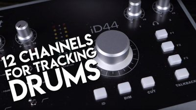 Record with multiple channels: Audient ID44 and ASP800