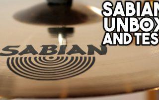 Sabian AAX AAXplosion Crash & Stadium Ride Review