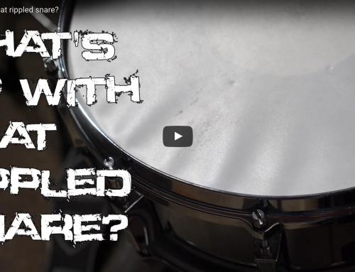 What's up with that rippled snare?