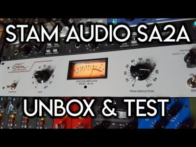 Stam Audio SA2A- Unbox & Test
