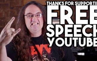 Thanks for supporting FREE SPEECH_Glenn Fricker