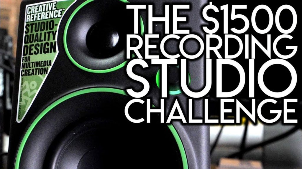 The $1500 Recording Studio Challenge