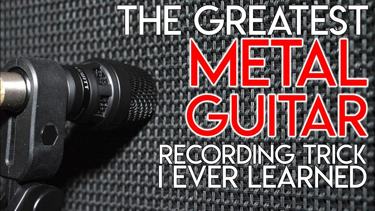 The Greatest METAL GUITAR recording trick