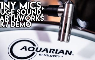 Tiny Mics - HUGE SOUND - Earthworks DK7 demo