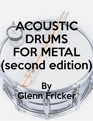 acoustic drums for metal recording manual