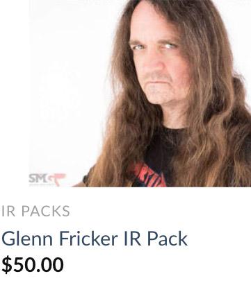 glenn fricker IR pack