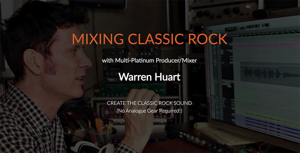 mixing classic rock