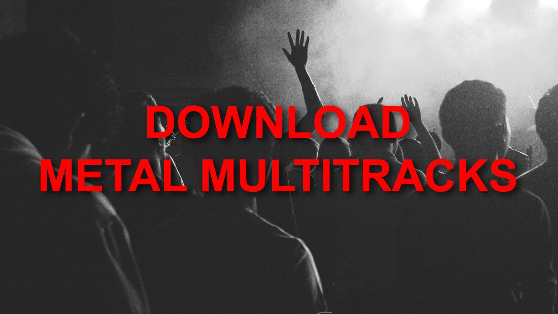 Metal Guitar Multitracks (Download) - Spectre Media Group